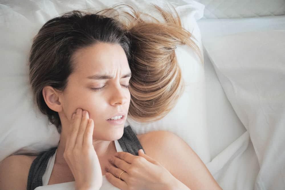 Zgrzytanie zębami podczas snu