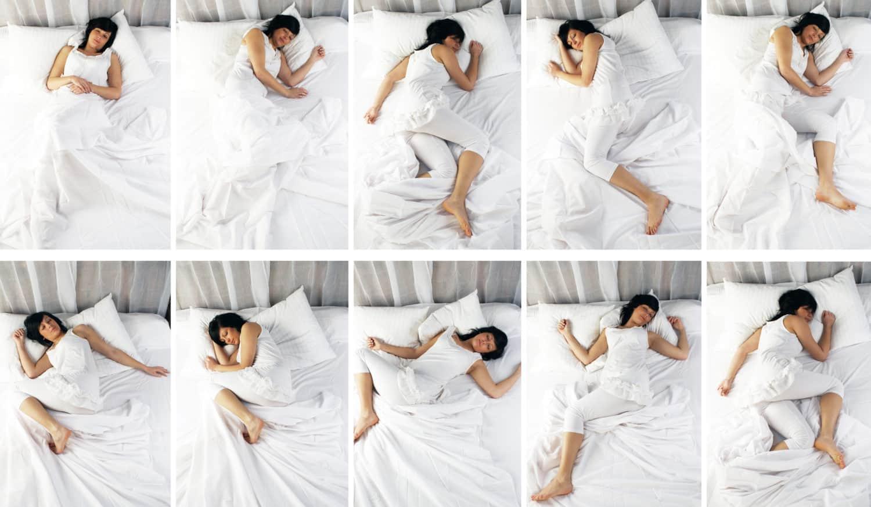 pozycje snu